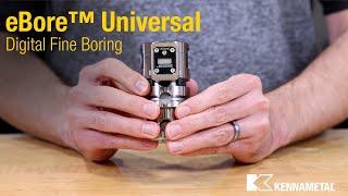 eBore™ Universal - Digital Fine Boring Tool