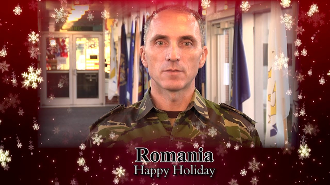 Holiday Greetings For The Us Army War College Youtube