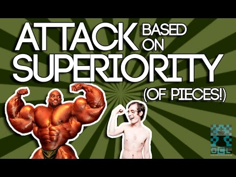 Plan and Attack Based on Superiority of Pieces!