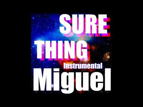 Miguel - Sure Thing (Instrumental)