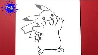 como dibujar a pokemon  -how to draw pokemon - dibujando caricaturas