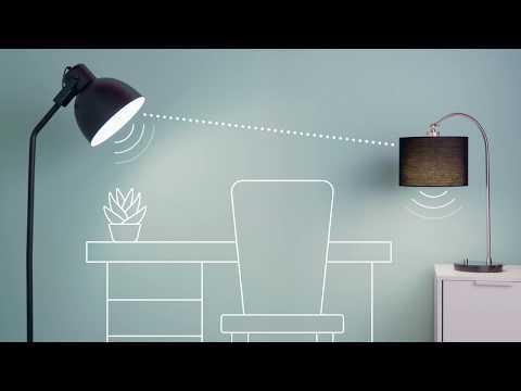 GE LED+ Speaker Light Bulb