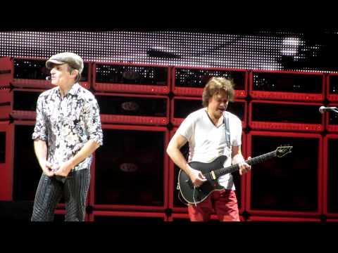 Van Halen 2-20-12 Palace of Auburn Hills PANAMA