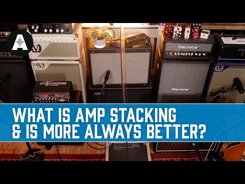 """Amp Stacking - Creating that """"Golden Tone"""" by Pairing Multiple Amps Together!"""