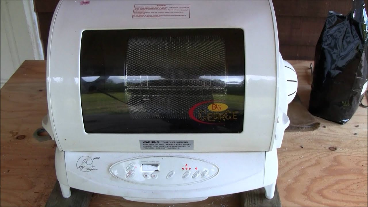 coffee roaster george foreman modified youtube rh youtube com George Foreman Rotisserie Manual George Foreman Grill