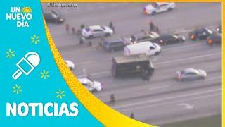 Una persecución policial termina en trágico tiroteo | Un Nuevo Día | Telemundo