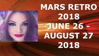 MARS RETROGRADE 2018
