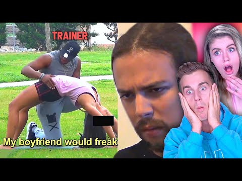 Guy Sets Up Girlfriend With Touchy Trainer..(To Catch A Cheater!)