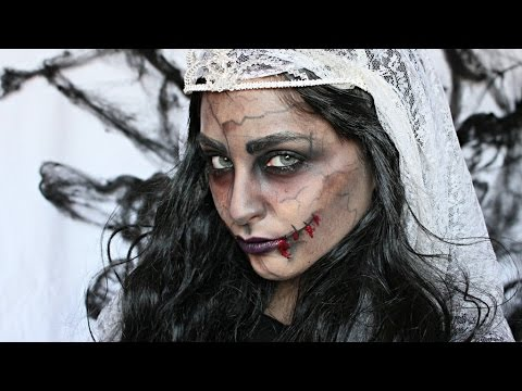 Trucco Halloween Yahoo.Sposa Zombie Halloween Makeup Tutorial