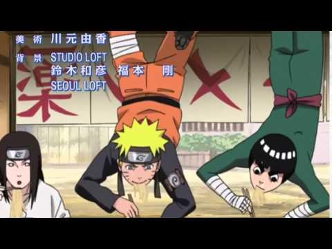 Naruto Shippuden Ending 34 [Niji no sora - FLOW] Empty Rainbow