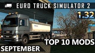 Top 10 Mods for Euro Truck Simulator 2 (1.32) - September 2018