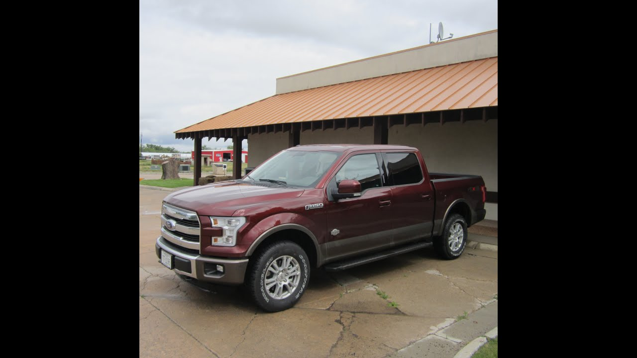 2015 Ford F150 King Ranch >> 2015 Ford F-150 King Ranch Automatic Tailgate - YouTube