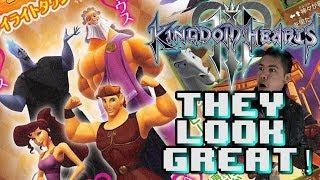 NEW Kingdom Hearts 3 Renders! Zeus, Meg & More REVEALED!