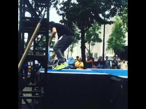 Sasuke Ninja Warrior Indonesia - Season 1 - Quin Tapple Step - Audition