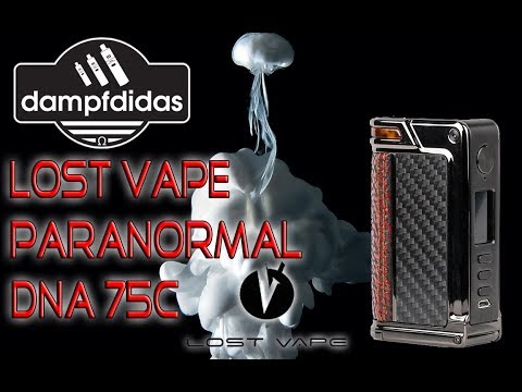 Lost Vape Paranormal DNA75C Review