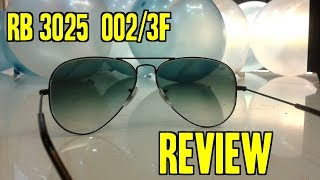 RayBan AVIATOR RB3025/002/3F 5814 sun glasses REVIEW | Indian Consumer