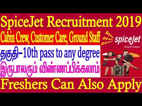 SpiceJet Recruitments for Freshers Aerospace Jobs Pilot Jobs