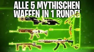 ALLE 5 MYTHISCHEN WÁFFEN in 1 RUNDE! ? | Fortnite: Battle Royale