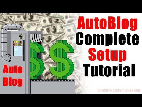 How to Setup for AutoBlogging & Make Money Online via Automatic System  - Urdu/Hindi