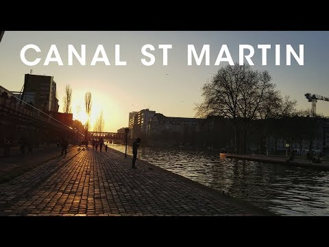 A Walk Along Canal St Martin