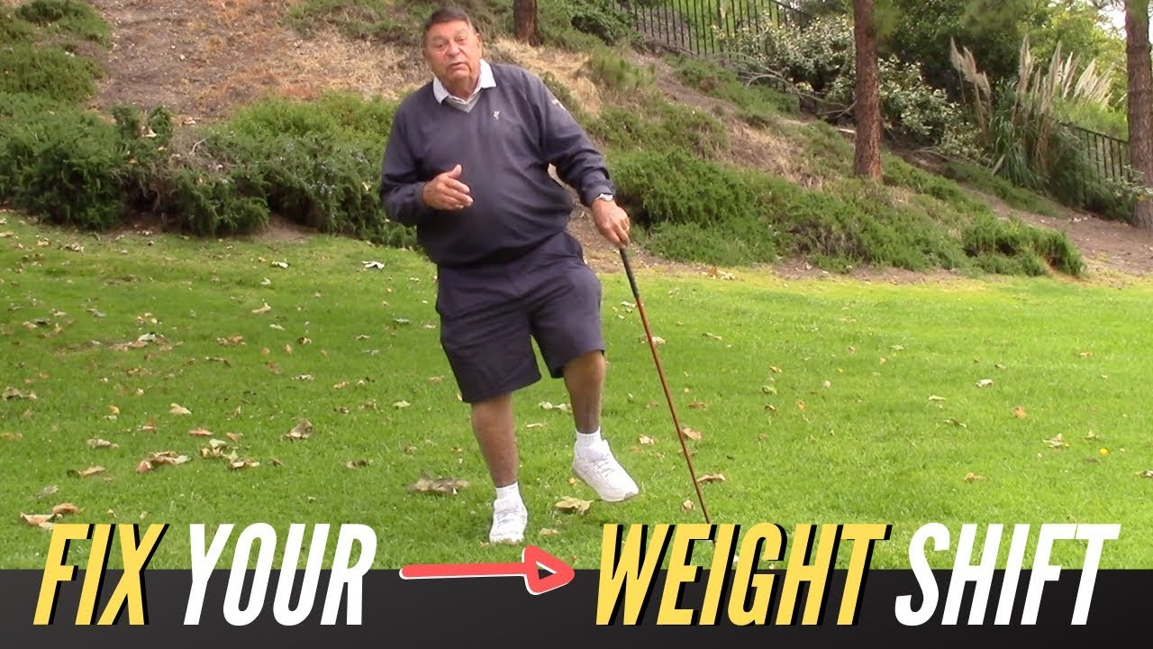 Perfect Weight Shift Made EASY | Golf with Darrell