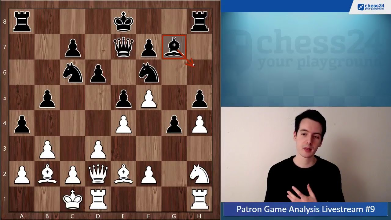 Chess Is All About Seeing Tactics   Patron Game Analysis #25