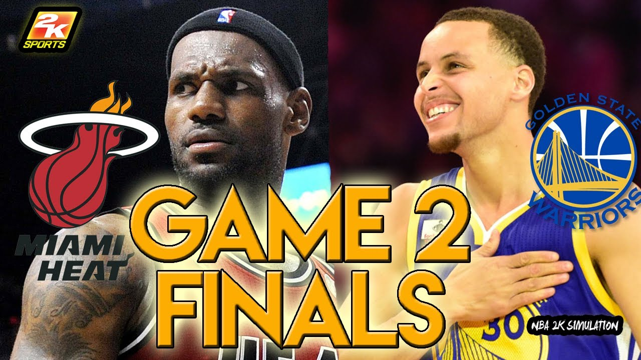 Miami heat lebron jamess vs golden state warriors nba2k17 miami - Miami Heat 12 13 Vs Golden State Warriors Game 2 Finals Who Will Win Nba 2k17