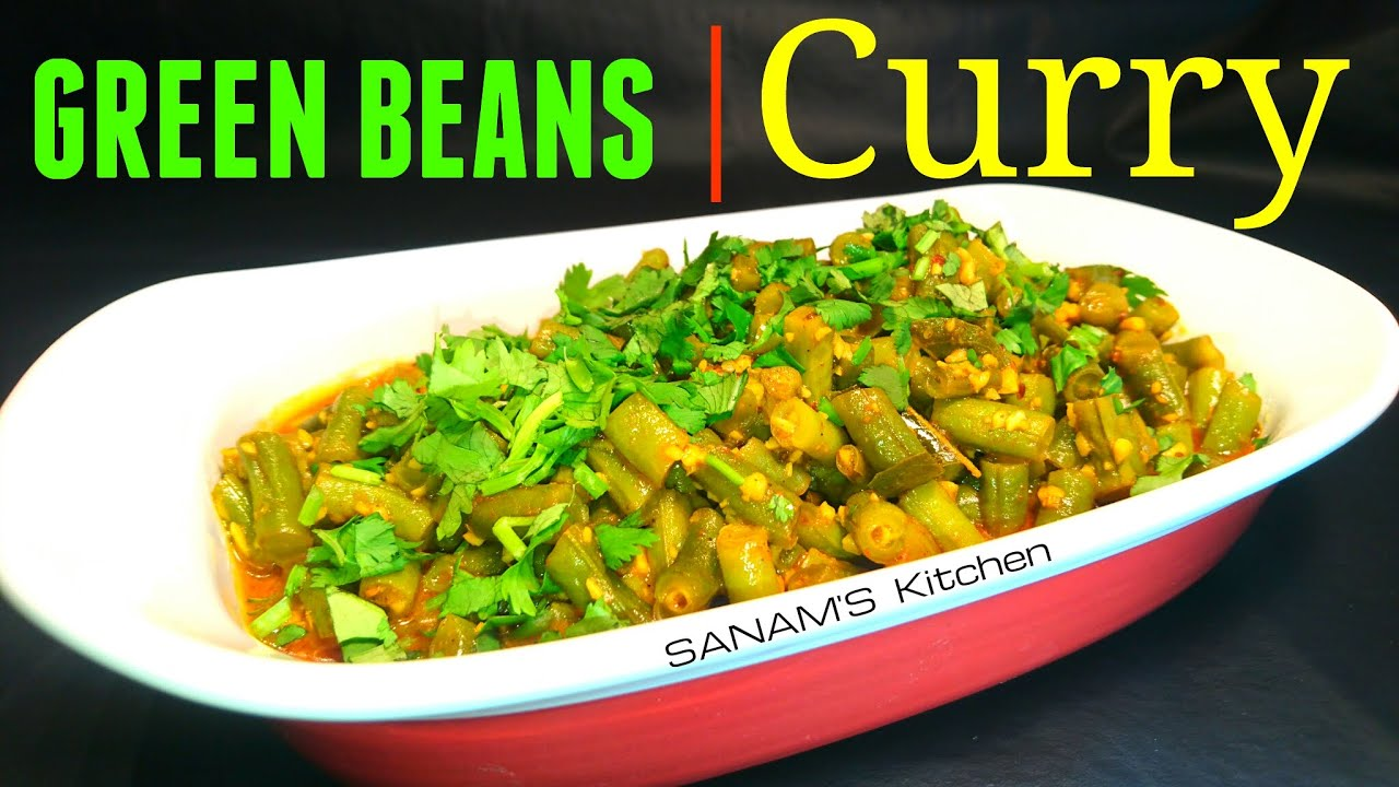 Green beans curry easiest recipe youtube youtube premium forumfinder Image collections
