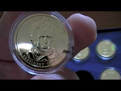 2008 Presidential Dollar Coin Set