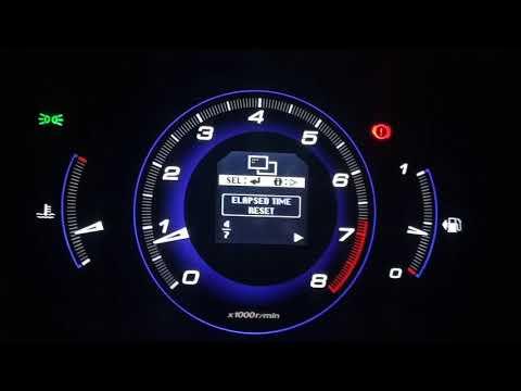 Honda Civic 5d дополнительная настройка инф. панели