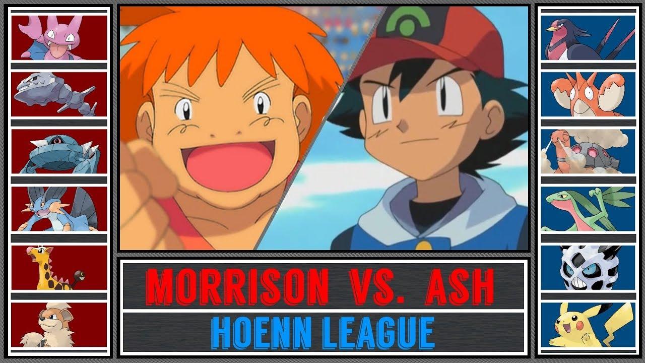 Ash vs. Morrison (Pokémon Sun/Moon) - Hoenn League/Round ...