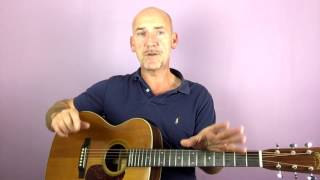 Bob Marley - No Woman No Cry - Guitar lesson by Joe Murphy