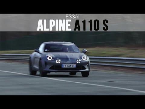 Essai Alpine A110S 2020