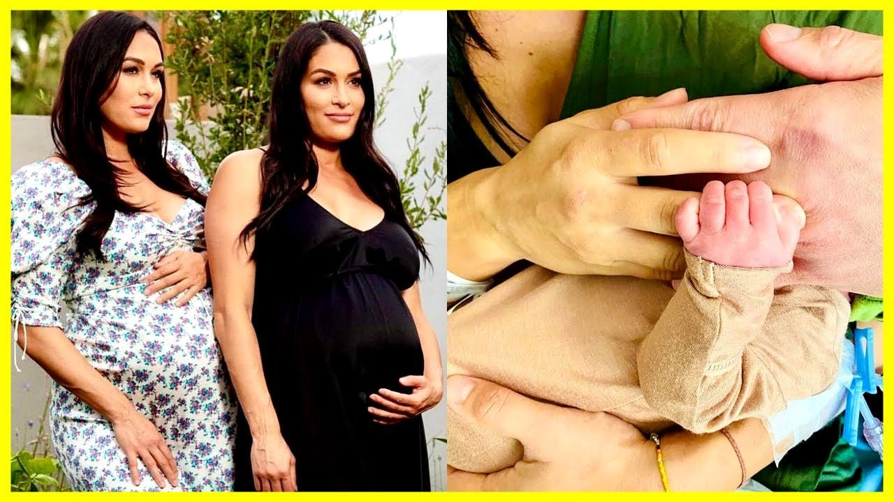 The Bella Twins Give Birth To Baby Boys 1 Day Apart | Nikki and Brie Bella Welcome Their Babies