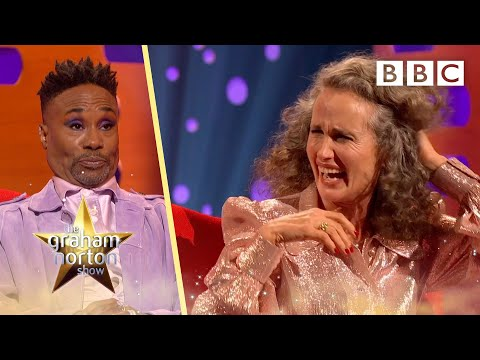 Andie MacDowell is mortified about this old email address!   The Graham Norton Show - BBC
