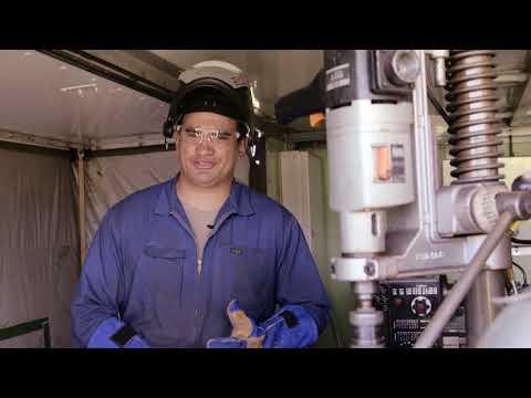Trent Salmon, Maintenance Fitter