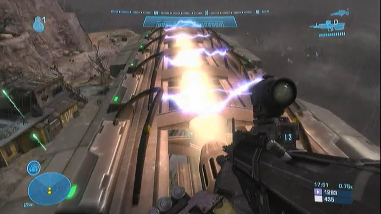 Halo Reach Getting To The Mac Cannon Early On Poa