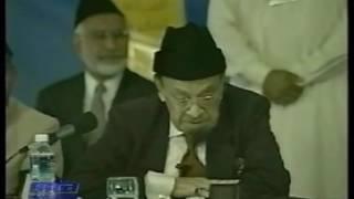 Concluding Address by Hazrat Sahibzada Mirza Muzaffar Ahmad Jalsa Salana, America 2001