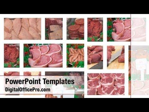 Butcher shop powerpoint template backgrounds digitalofficepro butcher shop powerpoint template backgrounds digitalofficepro 03614w toneelgroepblik Gallery