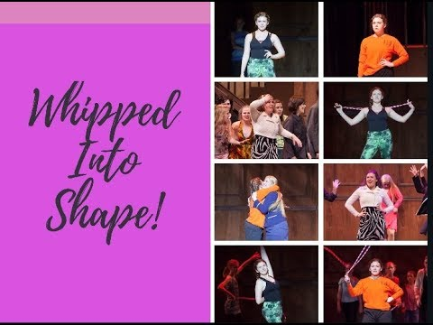 """Julia Taylor as """"Brooke"""" in Legally Blonde  Whipped Into Shape"""