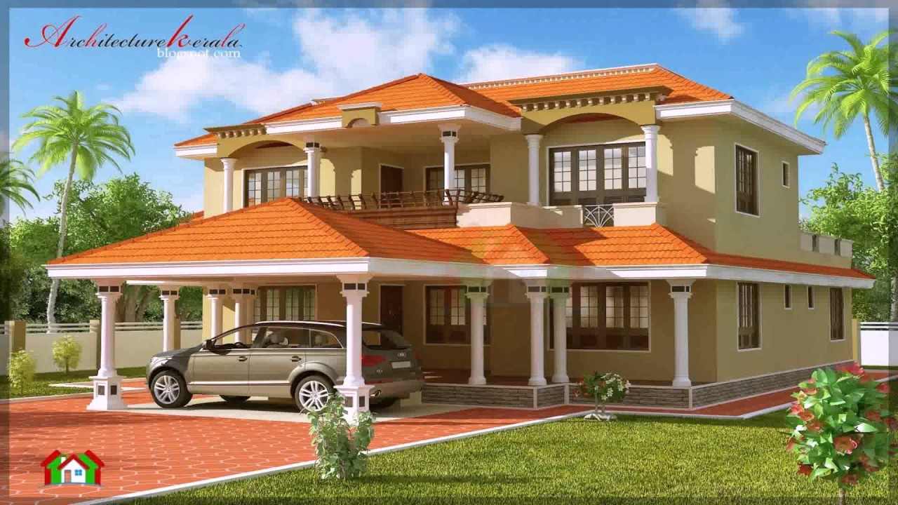 Kerala style house with nadumuttam youtube for Veedu plan kerala style