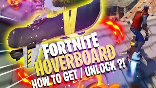 Fortnite STW:How to get a hoverboard!