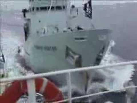 Sea Shepherd Attacks Japanese Whaling fleet.  Feb 12, 2007
