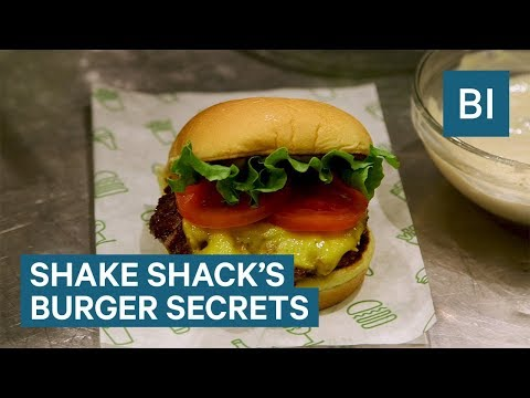 The Secret To Making Shake Shack Burgers