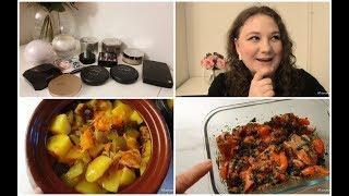 Vlog Ужин в горшках Моя коллекция пудр Любимые сережки Покупки продуктов и финских вкусняшек