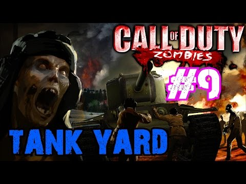 WE GOT SOME COOL CUSTOM LASER WEAPONS!▐ Custom Zombies on Tank Yard