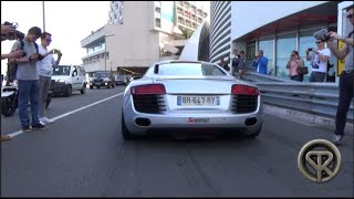 Audi R8 w/LOUD Akrapovic exhaust | Revs and Accelerations