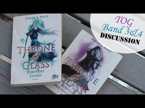 THRONE OF GLASS VON SARAH J. MAAS BAND 3&4 - Review und Diskussion