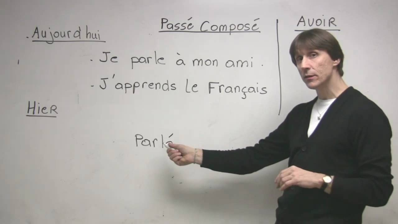 Gilles teaching French - YouTube