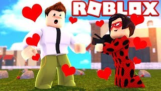 LADYBUG SE DECLAROU PARA O BEN 10! - ROBLOX (Miraculous Ladybug Roleplay and Teen Titans Go!)